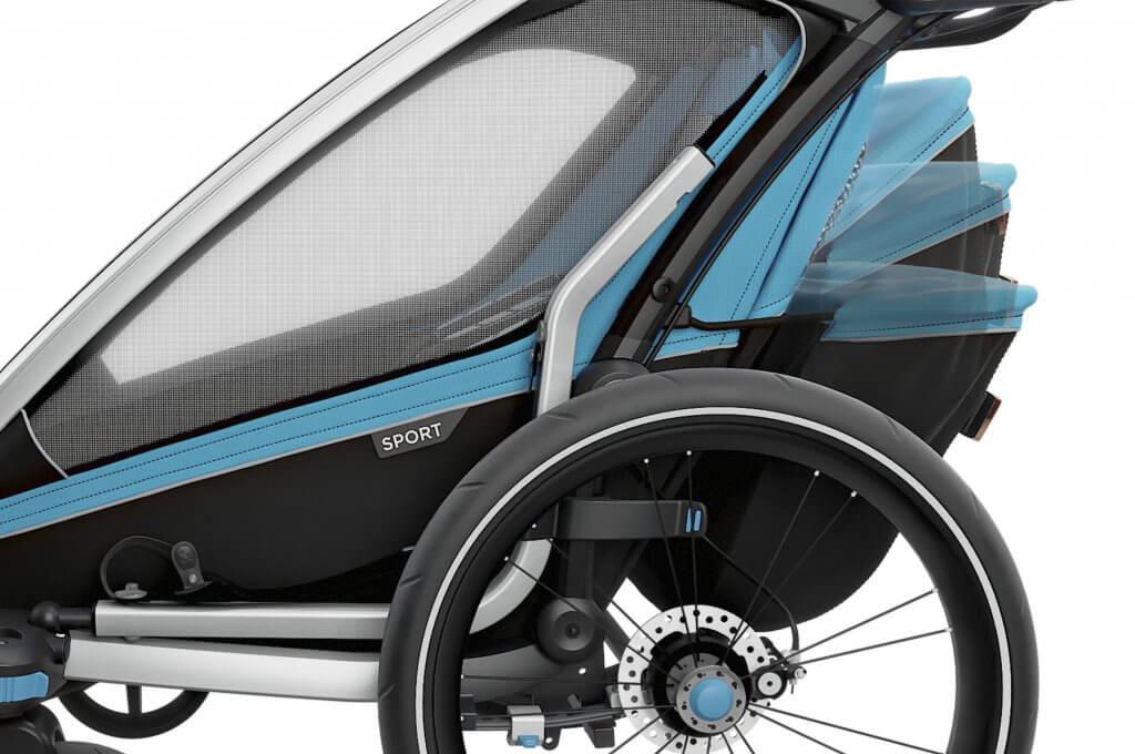 Thule Chariot Sport 1 Seitenansicht