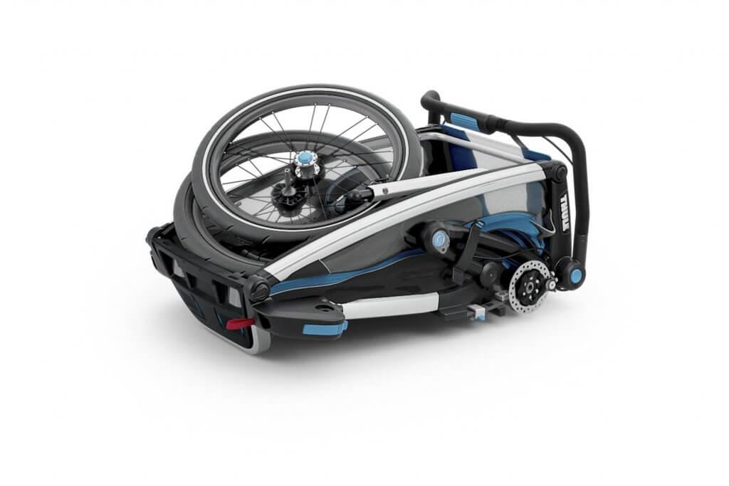 Thule Chariot Sport 1 zusammengefaltet