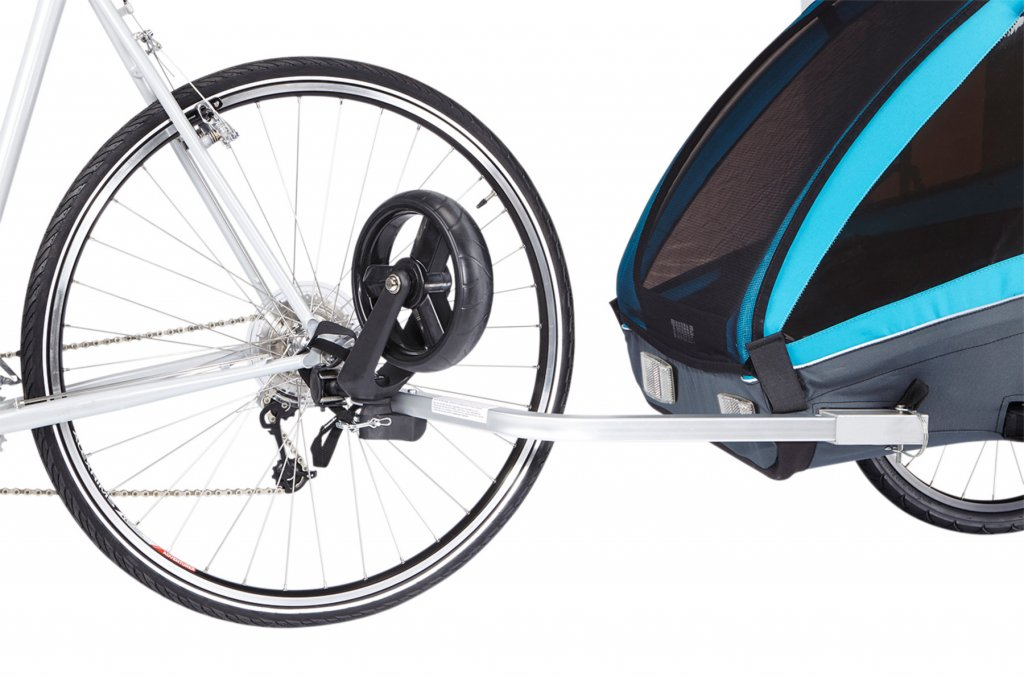 Thule Coaster XT am Fahrrad
