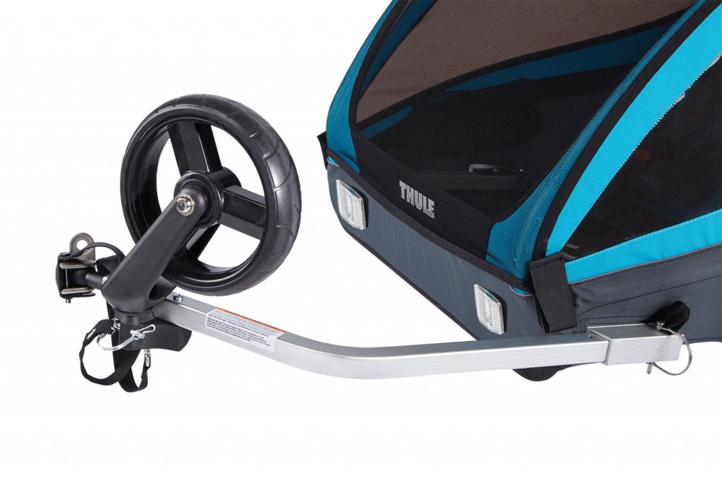 Thule Coaster XT Rad hochgeklappt