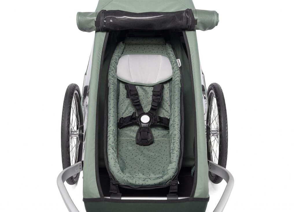 Croozer Kid Keeke 1 Babyeinhang im Sitzraum