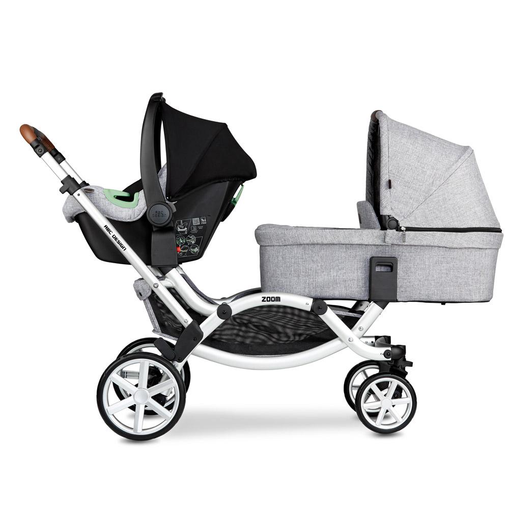 ABC Design Zoom Babyschale und Babywanne