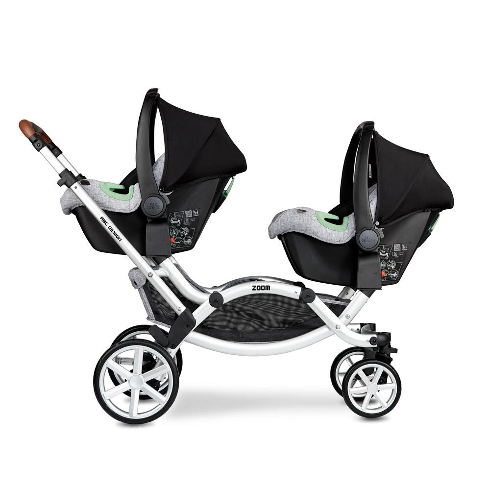 ABC Design Zoom zwei Babyschalen
