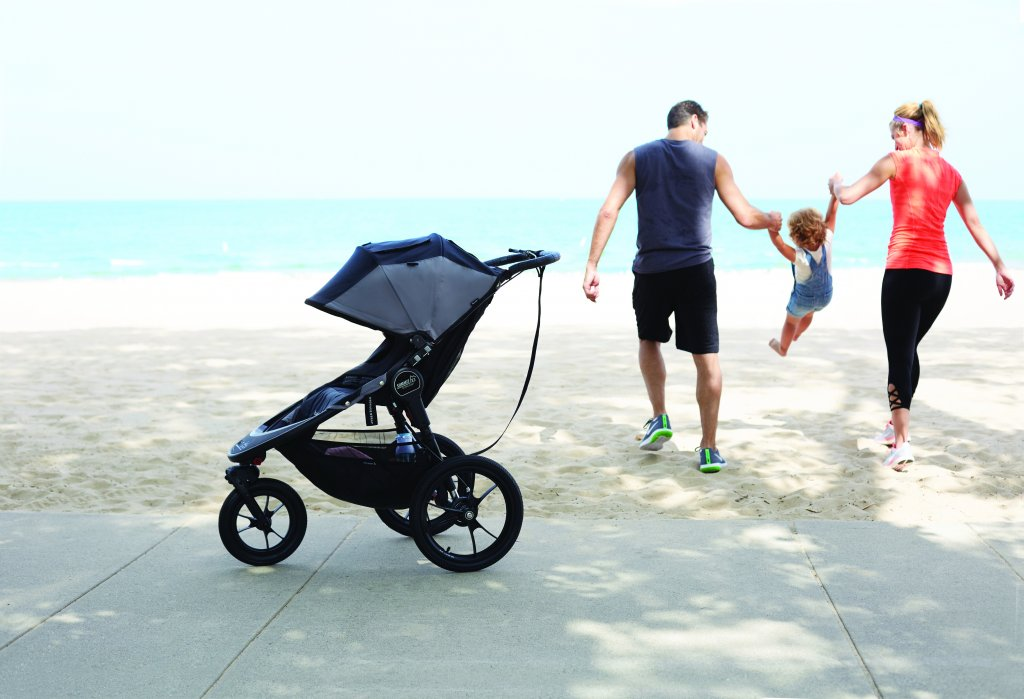 Baby Jogger Summit X3 unterwegs