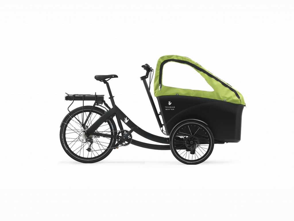 Triobike Boxter Rear Drive Lastenrad mit Verdeck