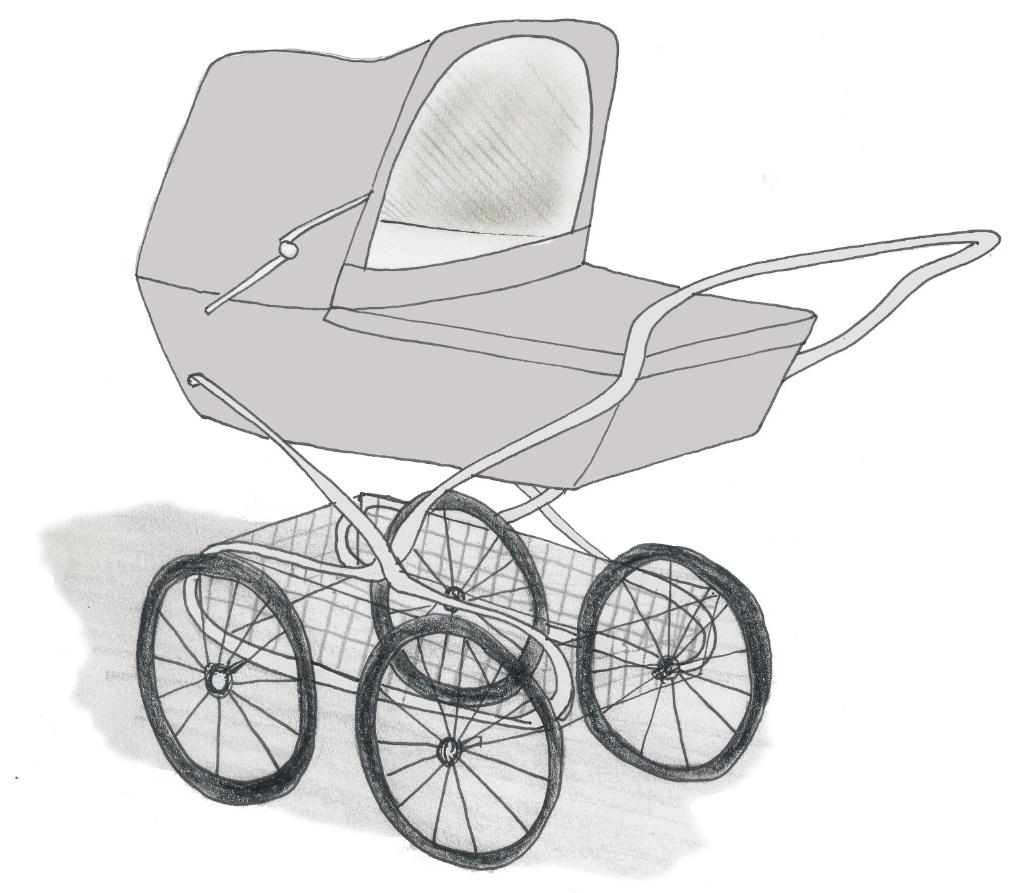 Kinderwagen Skitze