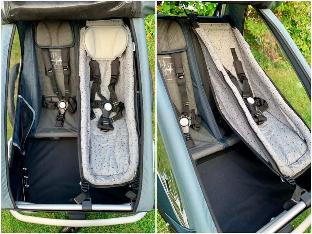 Babysitz eingebaut