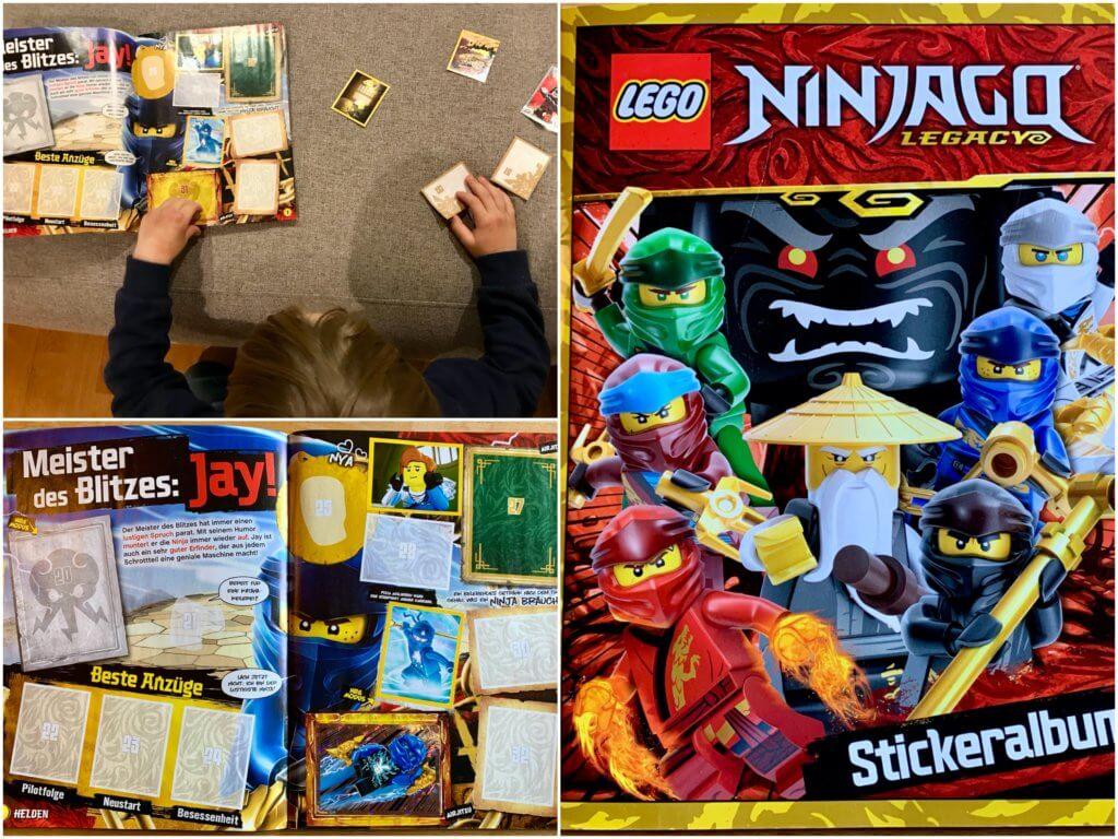 Ninjago Stickeralbum