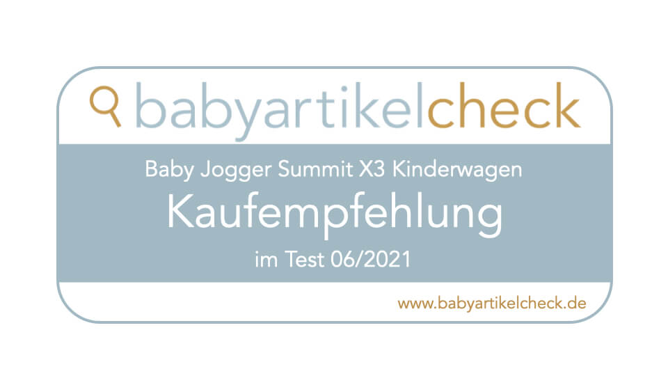 Siegel Baby Jogger Summit X3