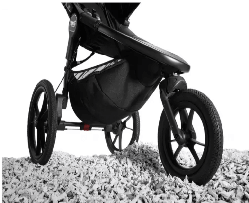 Baby Jogger Summit X3 im Gelände